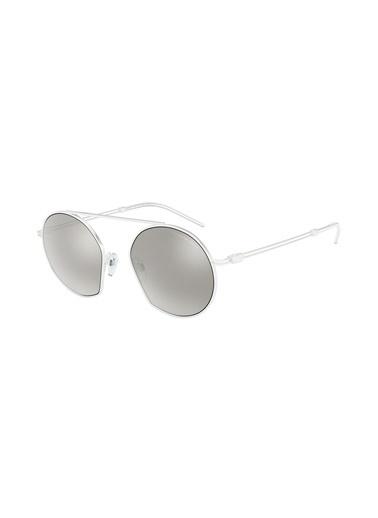 Emporio Armani Güneş Gözlüğü Beyaz